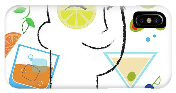 Celebration iPhone Case - Cocktail Time by Lisa Henderling