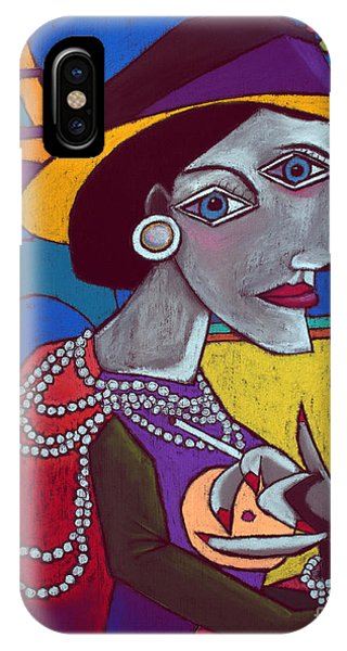 Old Fashioned iPhone Case - Coco Chanel by David Hinds