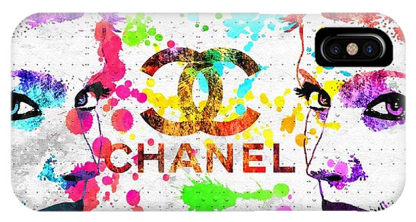Coco Chanel Grunge IPhone Case