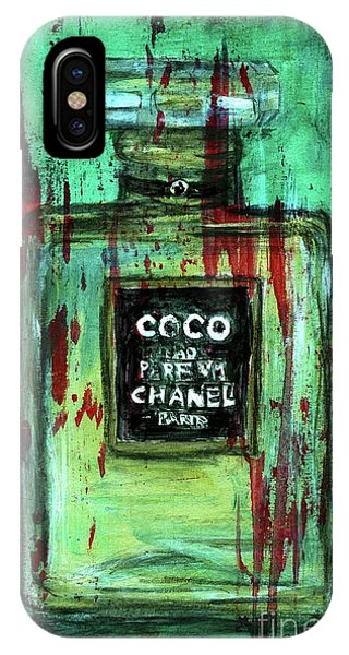 Perfume Bottles iPhone Case - Coco Potion by PJ Lewis
