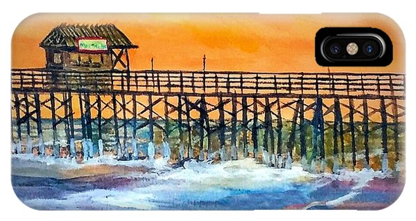 Cocoa Beach Pier IPhone Case