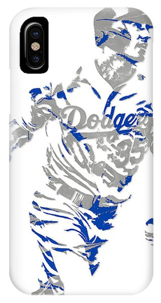 aef9e34eee9 Dodger Stadium iPhone Case - Cody Bellinger Los Angeles Dodgers Pixel Art 1  by Joe Hamilton