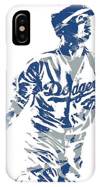 0bf15550f1c Dodgers iPhone Case - Cody Bellinger Los Angeles Dodgers Pixel Art 20 by  Joe Hamilton