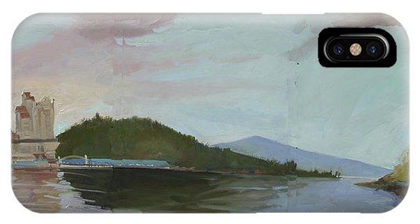 Coeur D Alene Lake    North  Idaho IPhone Case