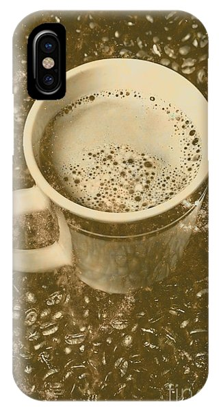 Old Fashioned iPhone Case - Coffee And Nostalgia by Jorgo Photography - Wall Art Gallery