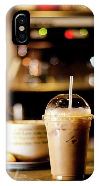 Coffee Bar Atmosphere IPhone Case