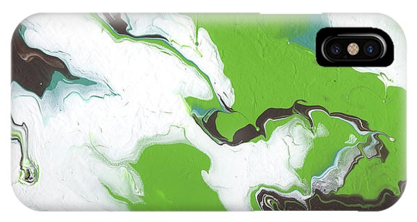 Earthy iPhone Case - Coffee Bean 1- Abstract Art By Linda Woods by Linda Woods