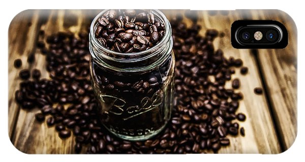 IPhone Case featuring the photograph Coffee Beans by Ryan Wyckoff