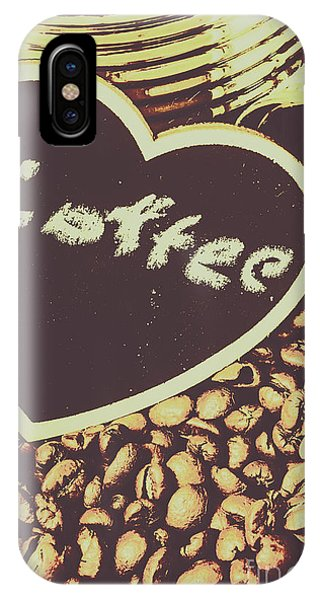 Seeds iPhone Case - Coffee Heart by Jorgo Photography - Wall Art Gallery