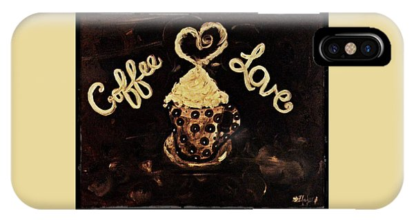 Coffee Love IPhone Case