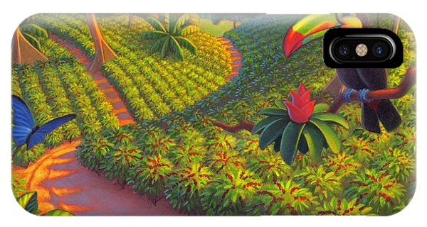 Coffee Plantation IPhone Case