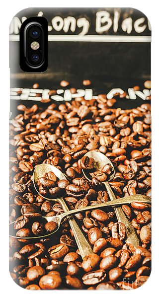 Cafe iPhone Case - Coffee Service Scene by Jorgo Photography - Wall Art Gallery