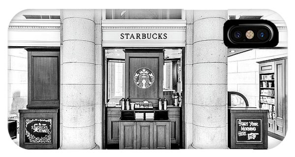 IPhone Case featuring the photograph Coffee Shop by Ryan Wyckoff