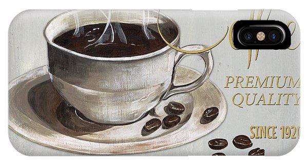Cafe iPhone Case - Coffee Shoppe 1 by Debbie DeWitt