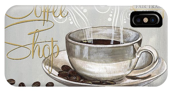 Cafe iPhone Case - Coffee Shoppe 2 by Debbie DeWitt