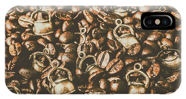Kettles iPhone Case - Coffeehouse Roast by Jorgo Photography - Wall Art Gallery