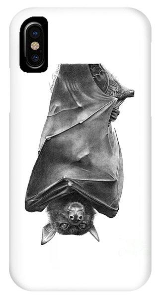 Coffie The Fruit Bat IPhone Case