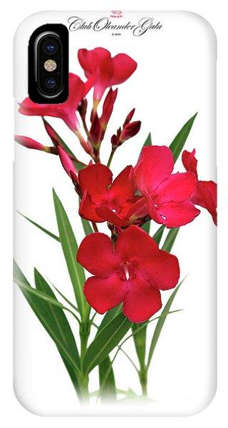 Cog  Nerium Oleander Emile Sahut IPhone Case