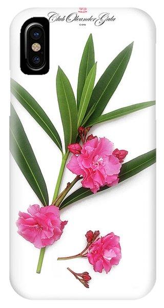 Cog  Nerium Oleander Splendens Giganteum IPhone Case