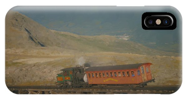 Cog Railway Mount Washington IPhone Case