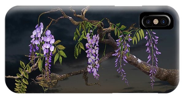 Cogan's Wisteria Tree IPhone Case
