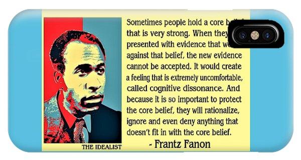 Cognitive Dissonance Frantz Fanon IPhone Case