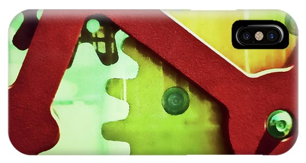 Cogs Square Edition IPhone Case