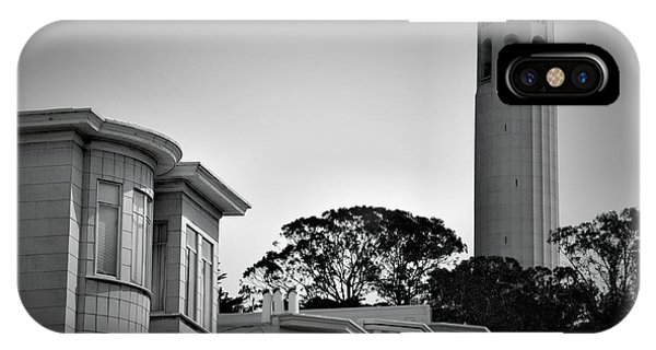 Coit Tower IPhone Case