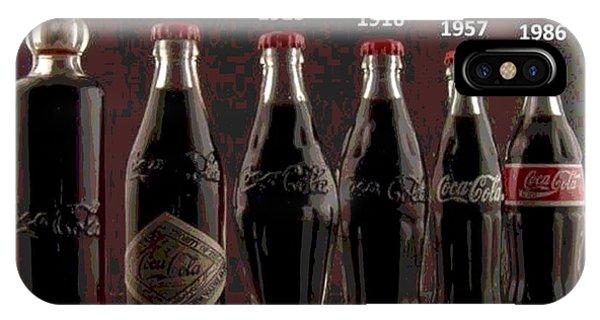 Coke Through Time IPhone Case