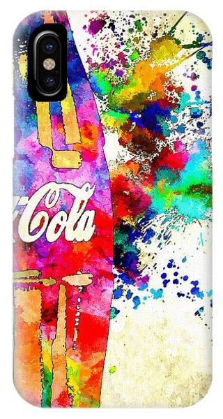 Cola Grunge IPhone Case