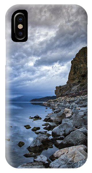 Cold Blue Cave Rock IPhone Case