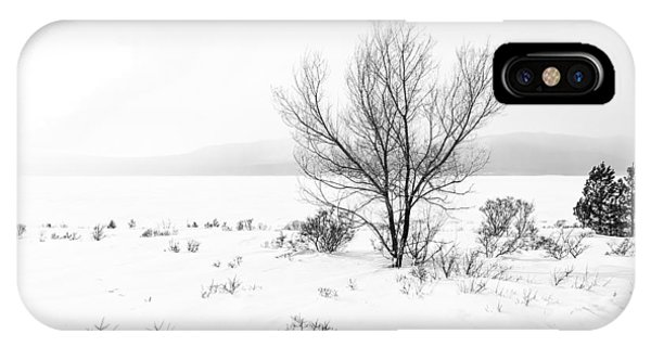 Cold Loneliness IPhone Case