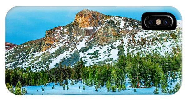 Nice iPhone Case - Cold Mountain by Az Jackson