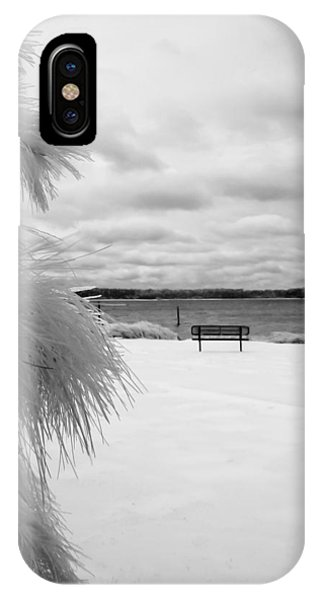 Cold Park Bench IPhone Case