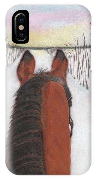 Cold Ride IPhone Case