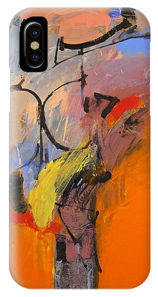 IPhone Case featuring the painting Cold Shoulder  by Cliff Spohn