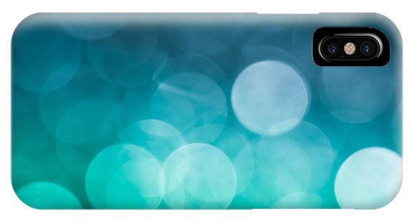 Teal iPhone Case - Cold Shower by Jan Bickerton