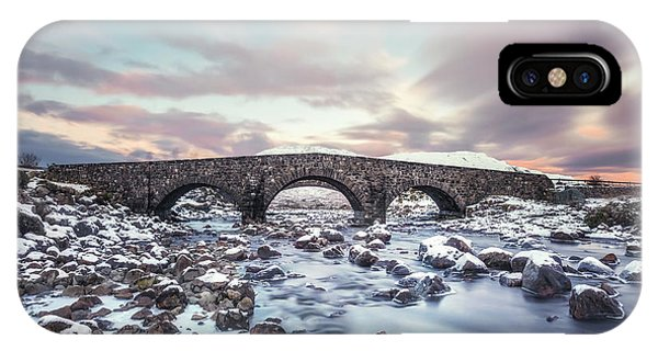 Isle Of Skye iPhone Case - Cold Water Spirit by Evelina Kremsdorf