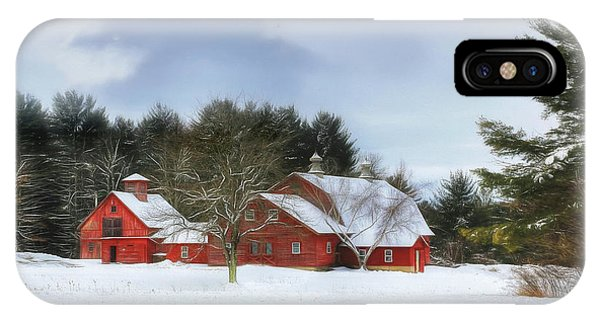 Cold Winter Days In Vermont IPhone Case