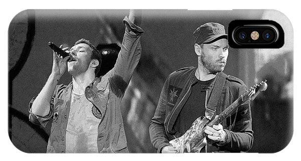 Coldplay iPhone Case - Coldplay 14 by Rafa Rivas