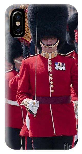 Coldstream Guards IPhone Case