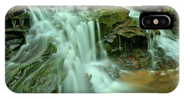 Somerset County iPhone Case - Cole Run Cave Falls by Adam Jewell