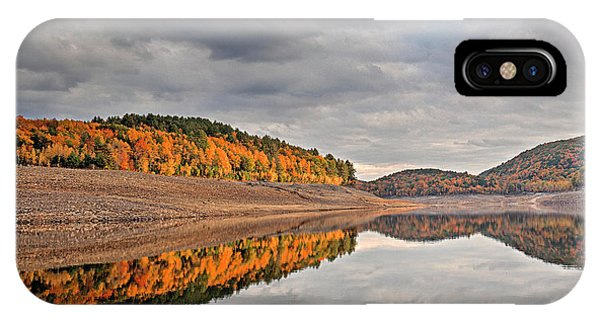 Colebrook Reservoir - In Drought IPhone Case