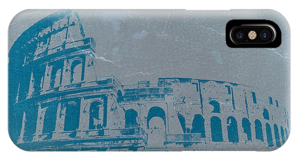 City Scenes iPhone Case - Coliseum by Naxart Studio