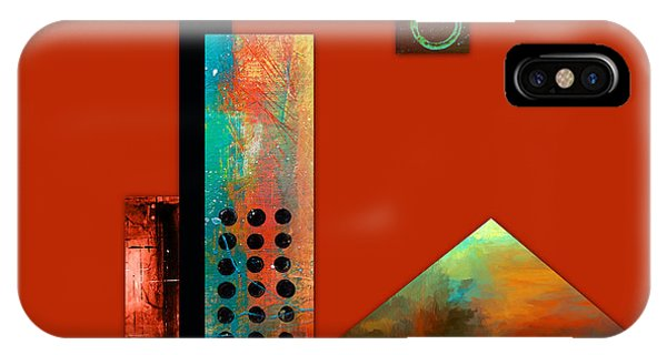Illusion iPhone Case - Collage Abstract 1 by Patricia Lintner