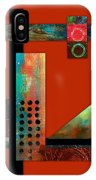 Collage Abstract 1 IPhone Case