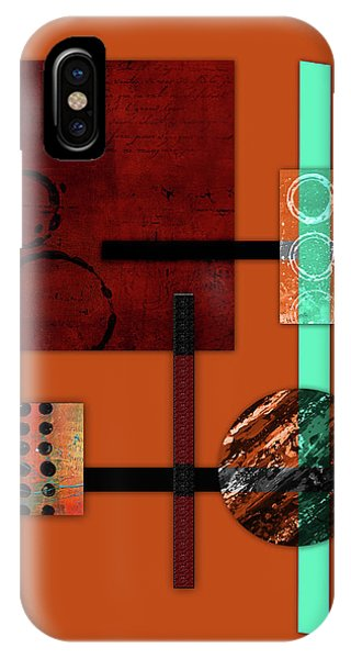 Collage Abstract 10 IPhone Case