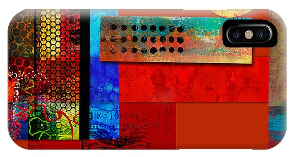 Illusion iPhone Case - Collage Abstract 2 by Patricia Lintner