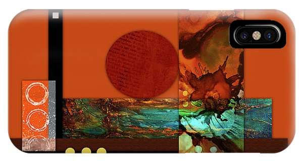 Illusion iPhone Case - Collage Abstract 6 by Patricia Lintner