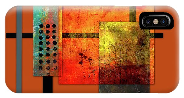 Illusion iPhone Case - Collage Abstract 7 by Patricia Lintner